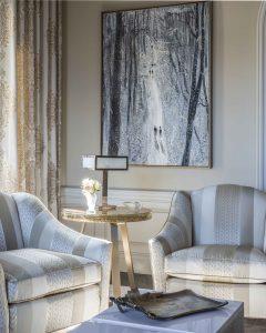 a corner of a Park Avenue Living Room