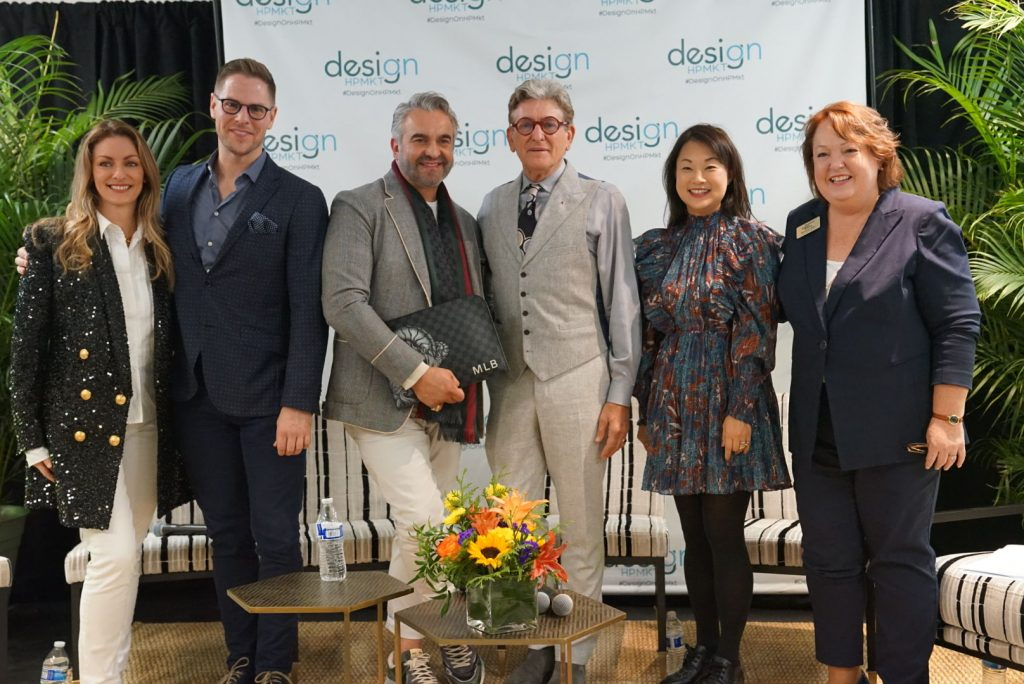 Erinn V, Ben Johnston, Martyn Lawrence Bullard, CPIII, Young Hug, and Kim from Furniture Lighting and Decor Magazine