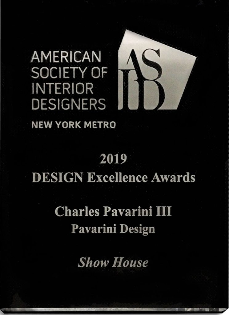 2019 ASID NY Metro Design Excellence Award 2019