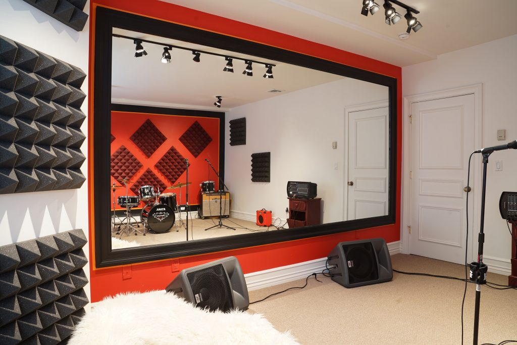 Home rehearsal space