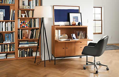 Home Desk Cabinet