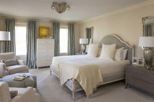 A comfortable bedroom in Boston