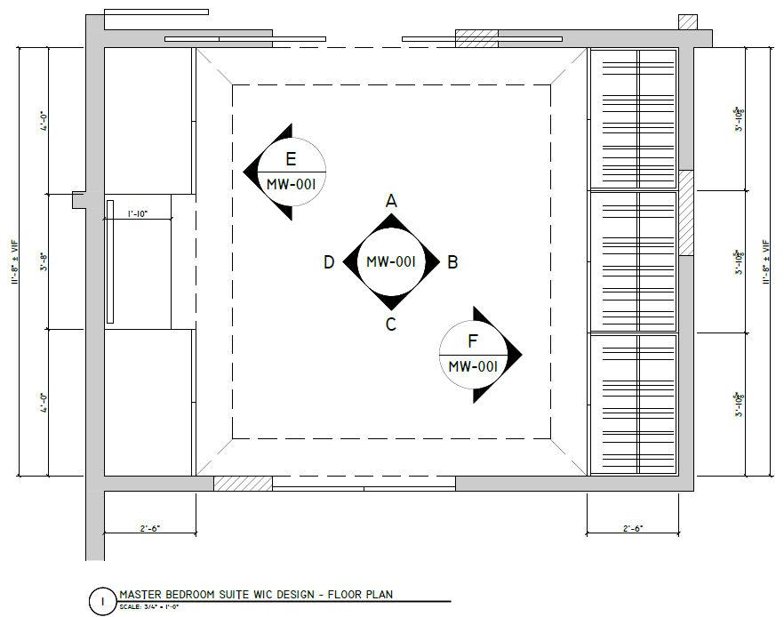 Dressing Room Floor Plan